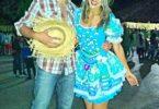 Patricia Borges e Osvaldo Ribeiro na Festa Junina de Salinas -MG