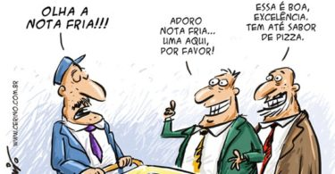 Notas frias charge