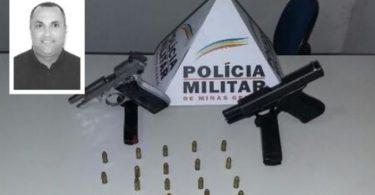 Presidente da Câmara de Vereador de Joaíma-MG, foi preso com 2 armas, acusado de mandar matar 2 adolescentes