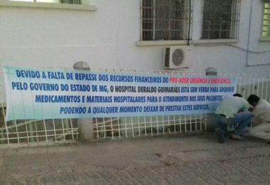 Hospital de Almenara não tem dinheiro do Governo do Estado e nem Ajuda efetiva de NENHUM DEPUTADO, mas vários já falaram um monte. TODOS CONVERSARAM FIADO