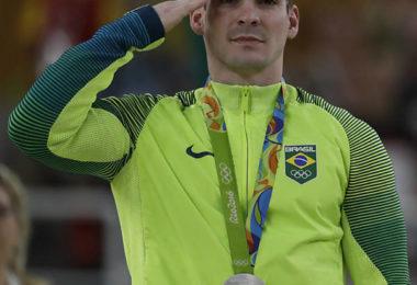 Arthur Zanetti medalha de Prata