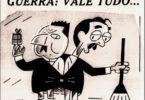 Charge da Década de 1950 , ao Cargo de Governador de São Paulo