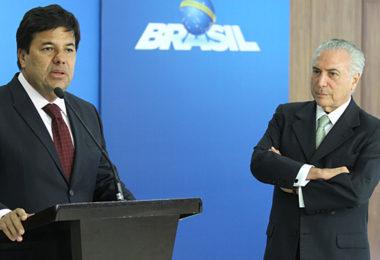 Ministro Mendoça Filho e Presidente Michel Temer