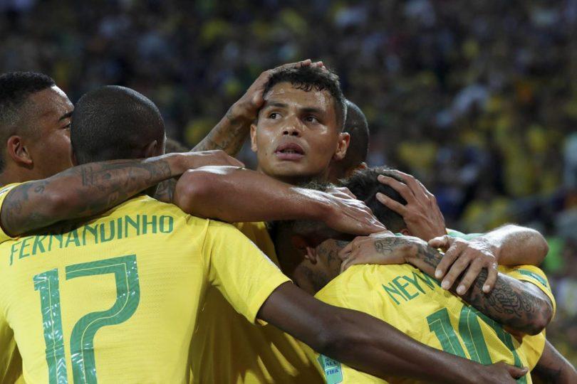 Seleção Brasileira de Futebol esta nas Oitavas de Final da Copa do ... a34e076fc6733